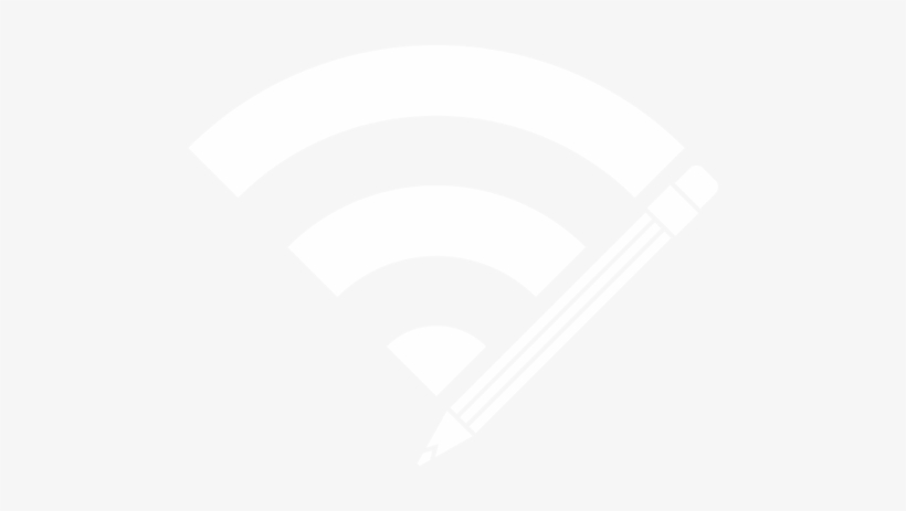 Wifi Pencil Icon - Graphic Design, transparent png #9655038