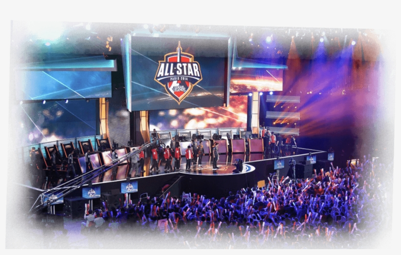 Dota Game Art Image - All Star Paris 2014 League Of Legends, transparent png #9656841