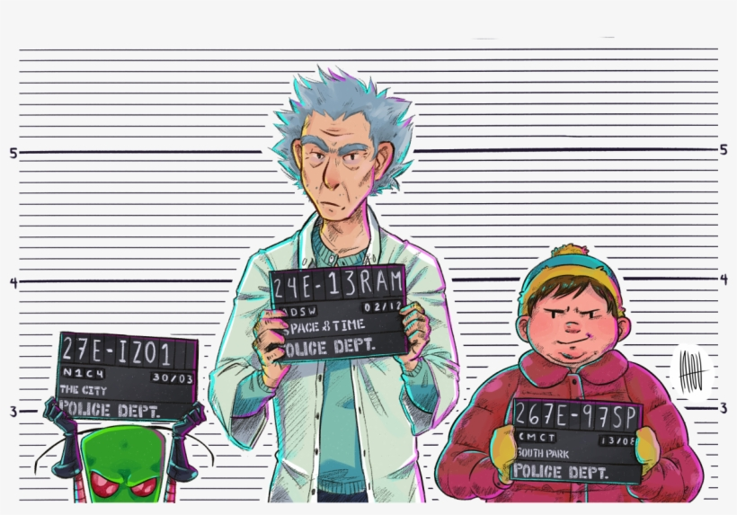 Rick And Morty Crossover,rick And Morty,рик И Морти, - Invader Zim Rick And Morty Crossover, transparent png #9662743