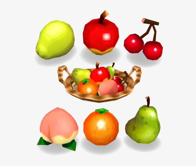 Download Zip Archive - Animal Crossing Fruits Png, transparent png #9671796