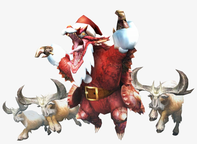 Merry Christmas R/monsterhunter - Hope Everyone Had A Merry Christmas, transparent png #9674244