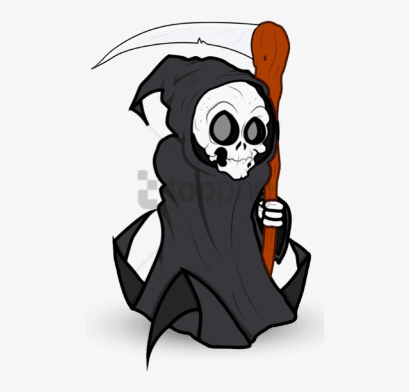 Free Png Download Halloween Grim Reaper Png Images - Png Clipart Grim Reaper Png, transparent png #9676261