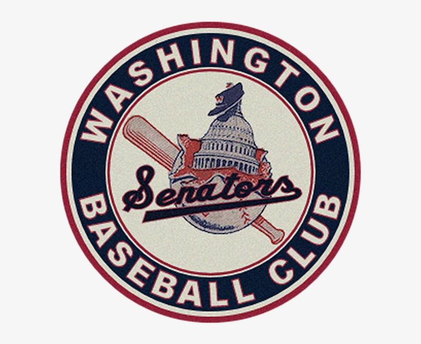 Washington Senators Retro Logo T Shirt For Sale By - Washington Senators Baseball Logos, transparent png #9677809
