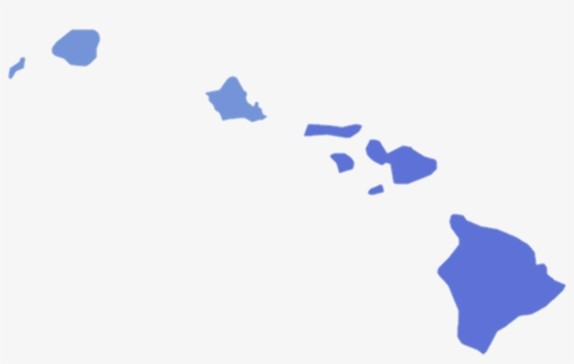 Hawaii Governor Election Results By County, 2010 - Hawaii Election Map 2016, transparent png #9684833