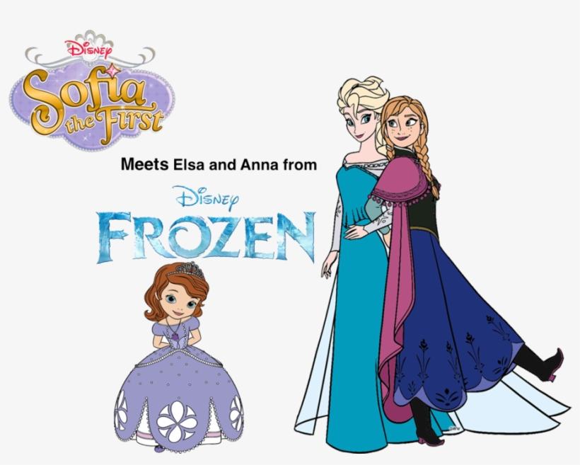 Sofia, Photo Puzzle Game - Frozen Anna And Elsa Cartoon, transparent png #9686491