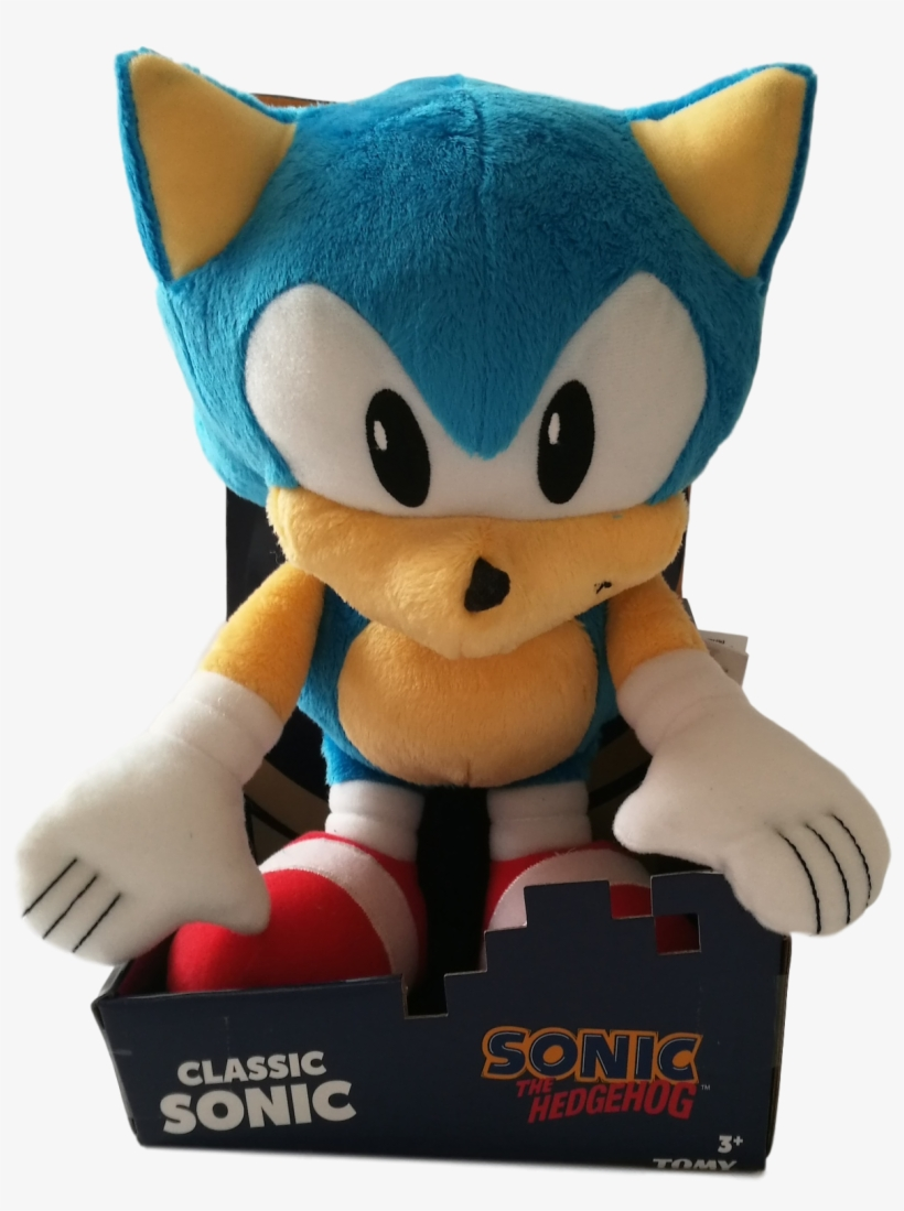 12 Sonic The Hedgehog Plush Stuffed Toy Free Transparent Png Download Pngkey