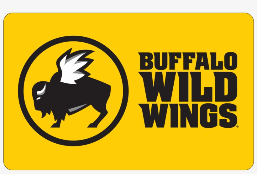 Buffalo Wild Wings® Gift Card - Transparent Buffalo Wild Wings Logo, transparent png #9696402