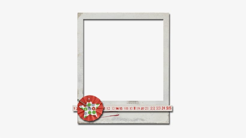 Gallery For Gt Polaroid Frame Tape Png - Christmas Polaroid Frame, transparent png #970689