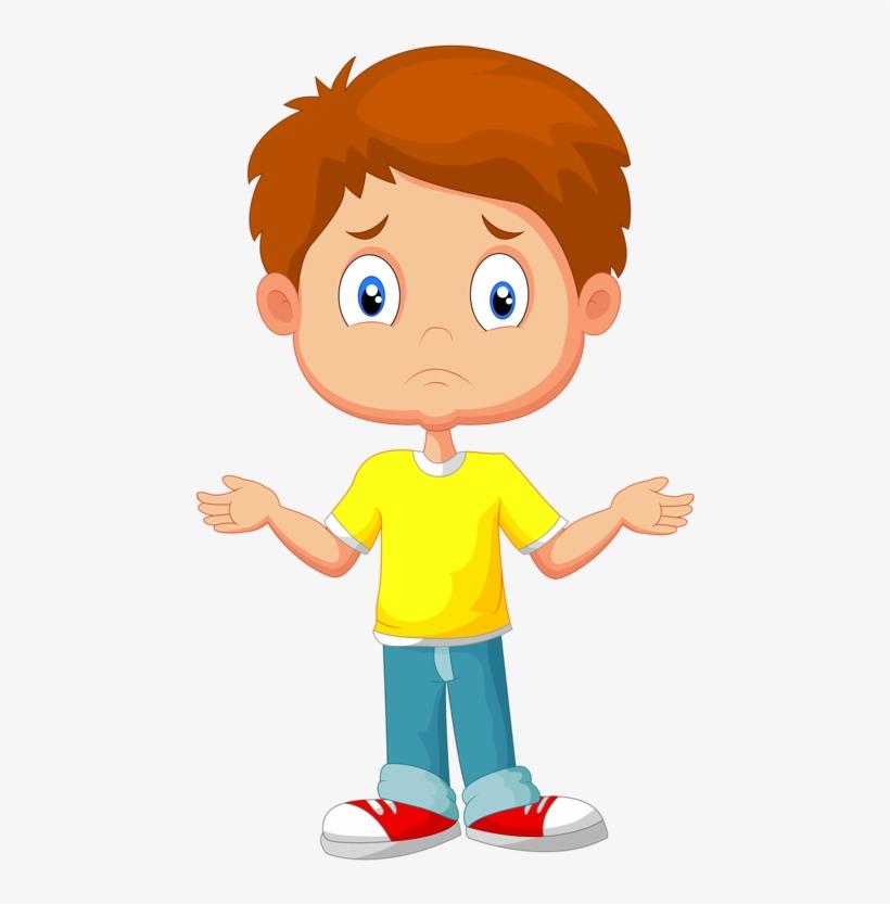 Фото, Автор Soloveika На Яндекс - Cartoon Kid Confused, transparent png #970745