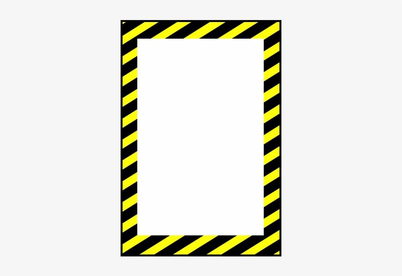 Vertical Caution Sign Custom Floor Tape Marking - Transparent Caution Sign, transparent png #970812