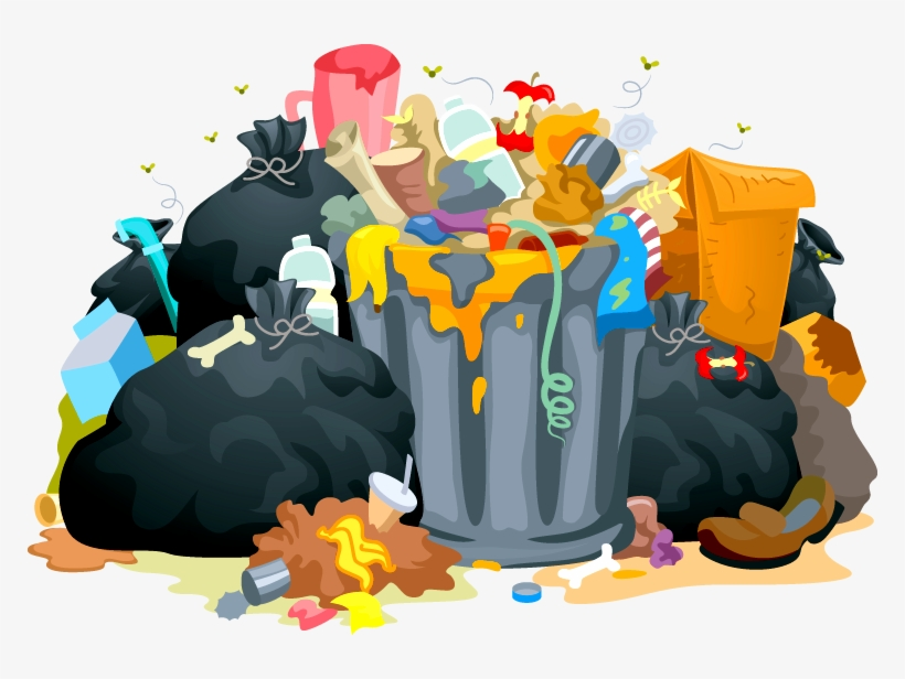 Trash Can Clipart Proper Disposal Garbage - Garbage Clipart, transparent png #971033
