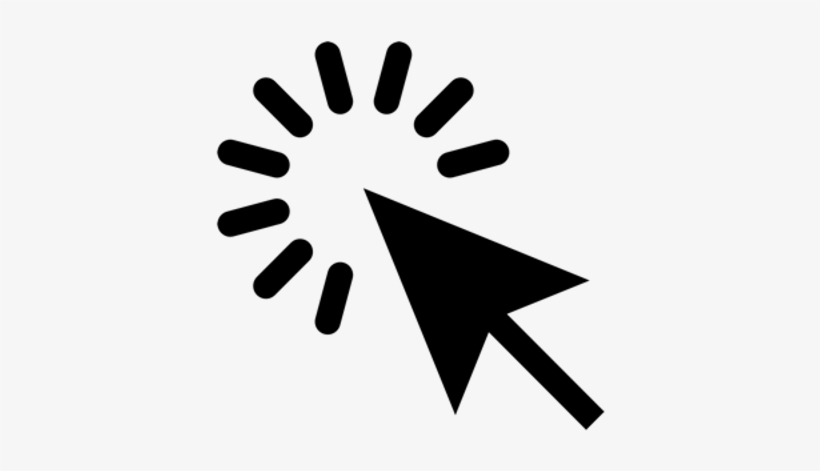 Click Arrow - Click Here Icon Png, transparent png #971604