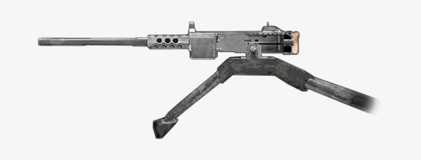 50cal M2 Browning Machine Gun Finest Hour Side - Machine Gun