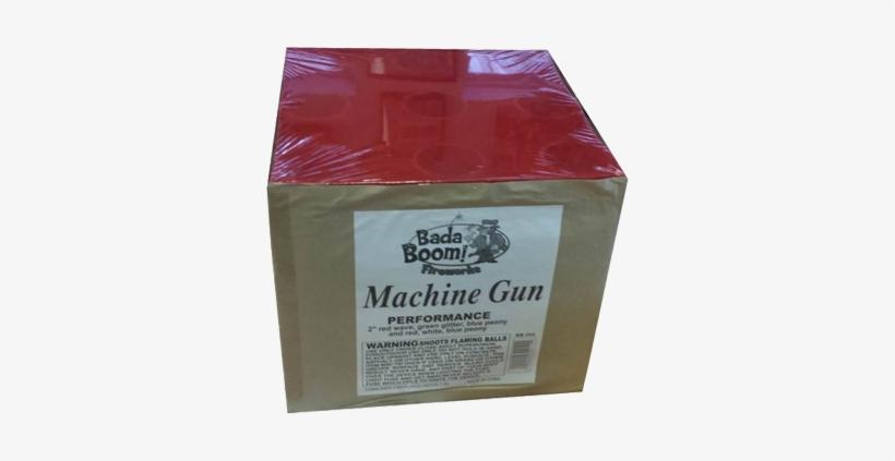 Machine Gun - Machine Gun Cake Firework, transparent png #973175