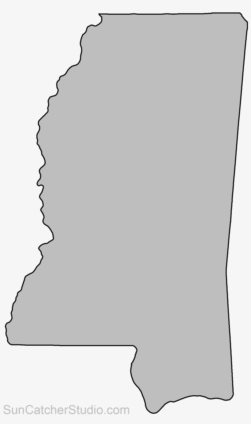 Mississippi State Map Outline.Map Outline State Outline Map Puzzle Us States Mississippi