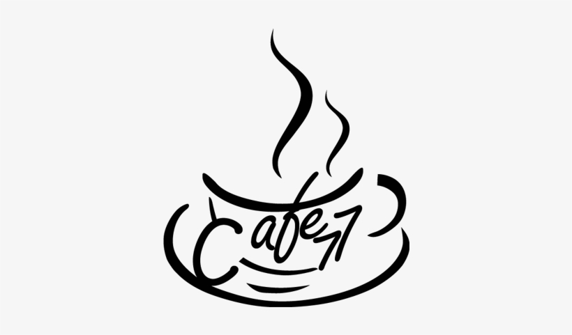 Taza De Cafe Dibujo Png: #vinilo Para #cafeteria Con Taza De Café