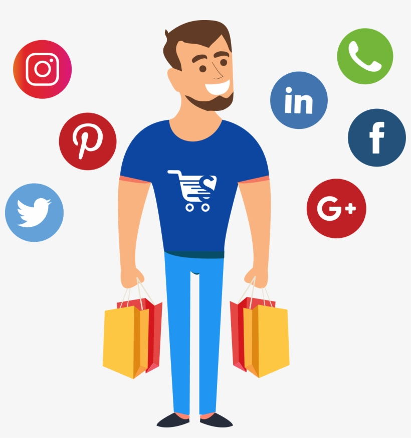Sellezely Is The Platform To Make Social Selling Easy - Whatsapp Facebook Twitter Instagram Png, transparent png #979546