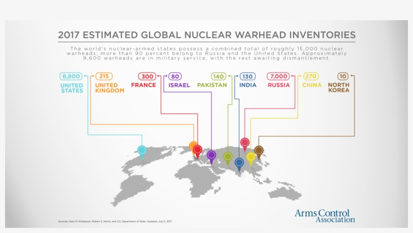 Just Four Years Later, The Soviet Union Conducted Its - Countries With Nuclear Weapons 2017, transparent png #9705344