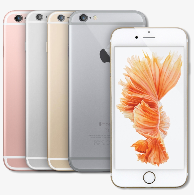 Apple Iphone 6s Plus 16gb 64gb Gsm Unlocked 4g Lte - Rose Gold Iphone 6s, transparent png #9705698