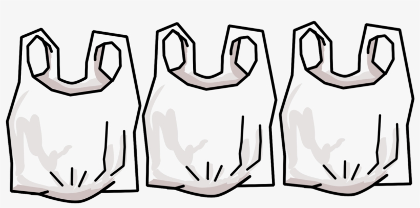 Plastic Bags Banned In Nyc - No Plastic Bags Png, transparent png #9711379