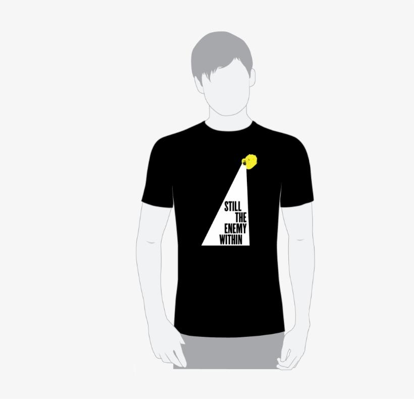 Black Cotton T-shirt - Design School Reunion T Shirt, transparent png #9722658