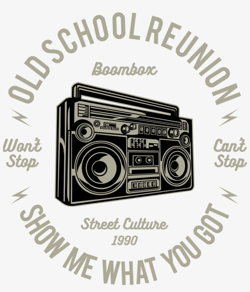 Boombox - Find What You Love And Let It Kill You Tattoo, transparent png #9726121