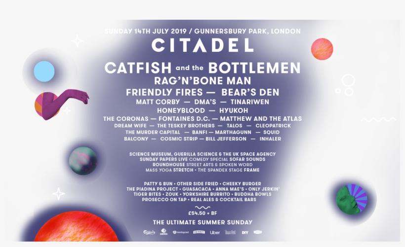 Ctl Splash Ampersand - Citadel Festival Line Up 2019, transparent png #9727359