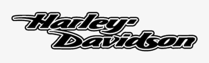 Harley Davidson Bike Decal Logo - Harley Davidson Script Logo, transparent png #9730095