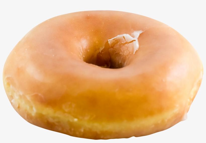 Donut Menu Rise N Roll Bakery Glazed - Glazed Donut Png, transparent png #9732465