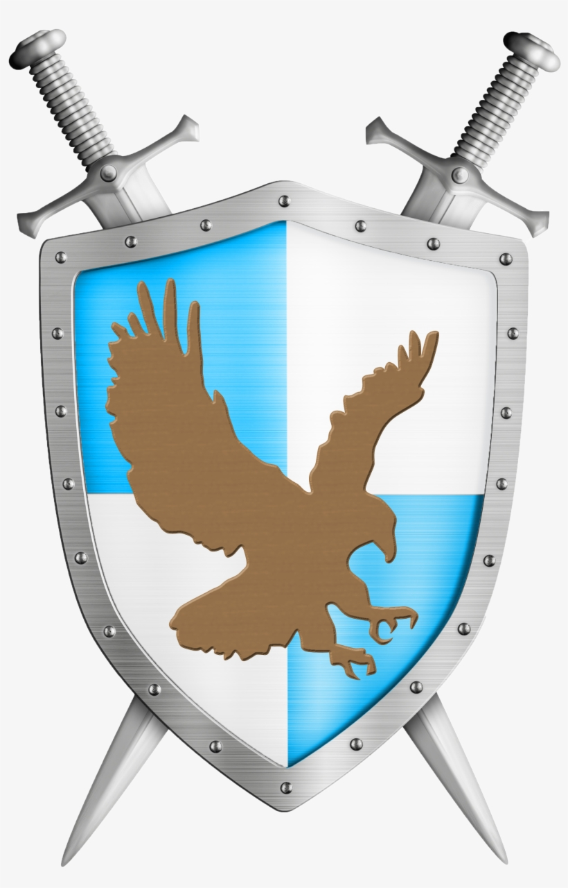 Client Logo - Crusader Shield And Sword, transparent png #9733815
