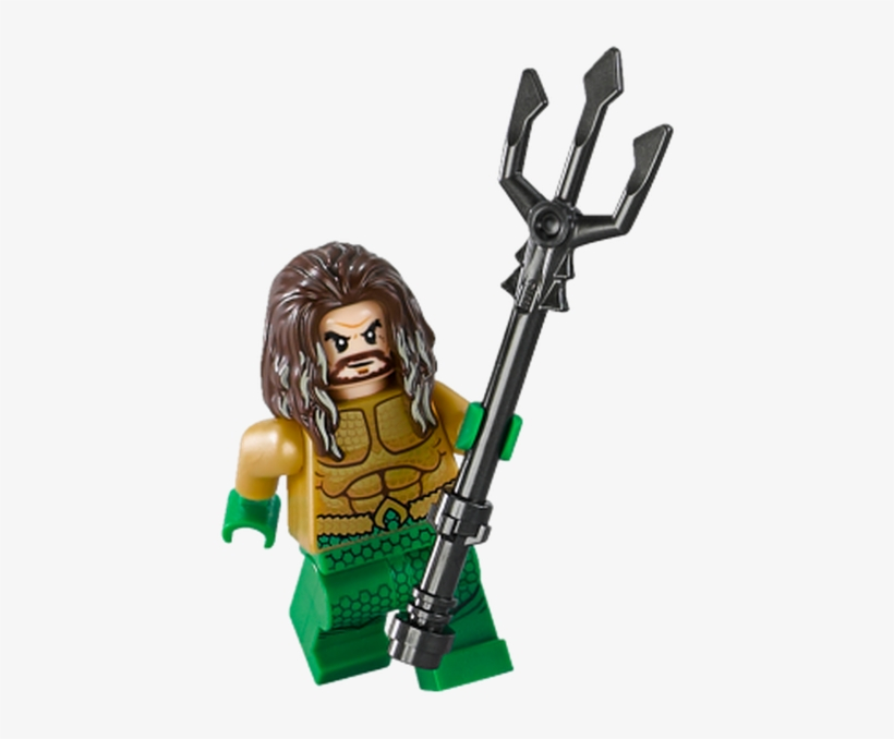 The First Minifigure In The Set Is Aquaman - Lego Aquaman Sets 2018, transparent png #9738672