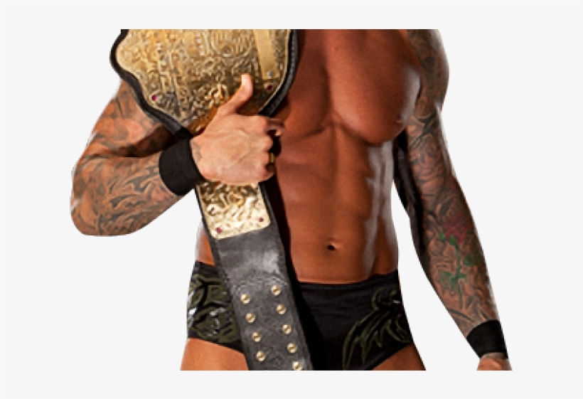 Randy Orton Clipart Png - Wwe Money In The Bank 2011 Match Cards, transparent png #9739279