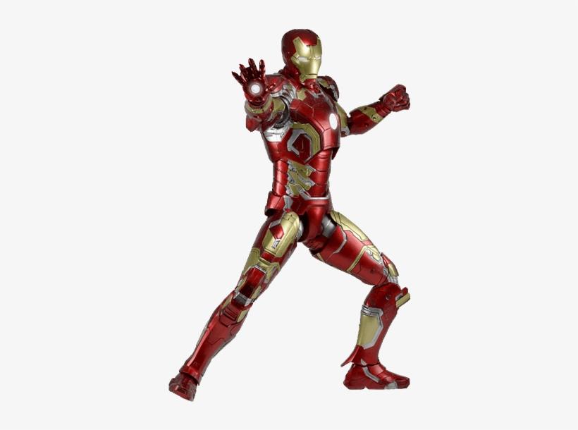 Age Of Ultron - Iron Man Neca 1 4, transparent png #9740254