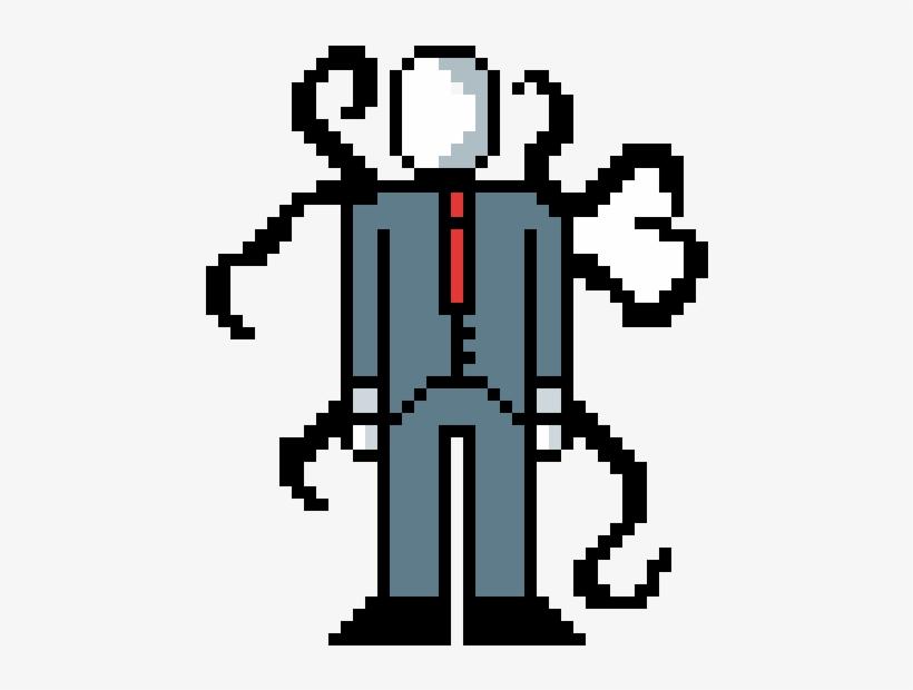 Minecraft Pixel Slender Free Slenderman Transparent Ovmn80wn Art Png Man fvY7ybg6