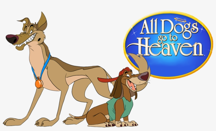 All Dogs Go To Heaven Image - All Dogs Go To Heaven Charlie And Itchy, transparent png #9749476