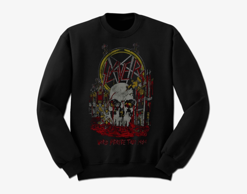 South Of Heaven 84' Vintage Crewneck Sweatshirt - Dq Sweatshirt, transparent png #9749722