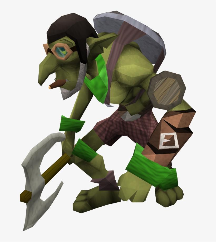 Goblins Revengeful Attack Level 3 Goblin Runescape Free Transparent Png Download Pngkey