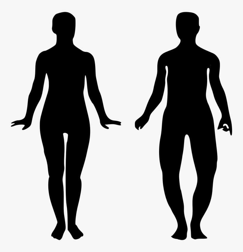 This Png File Is About Remix 309316 , Persons , Human - Man And Woman Walking Silhouette, transparent png #9761410