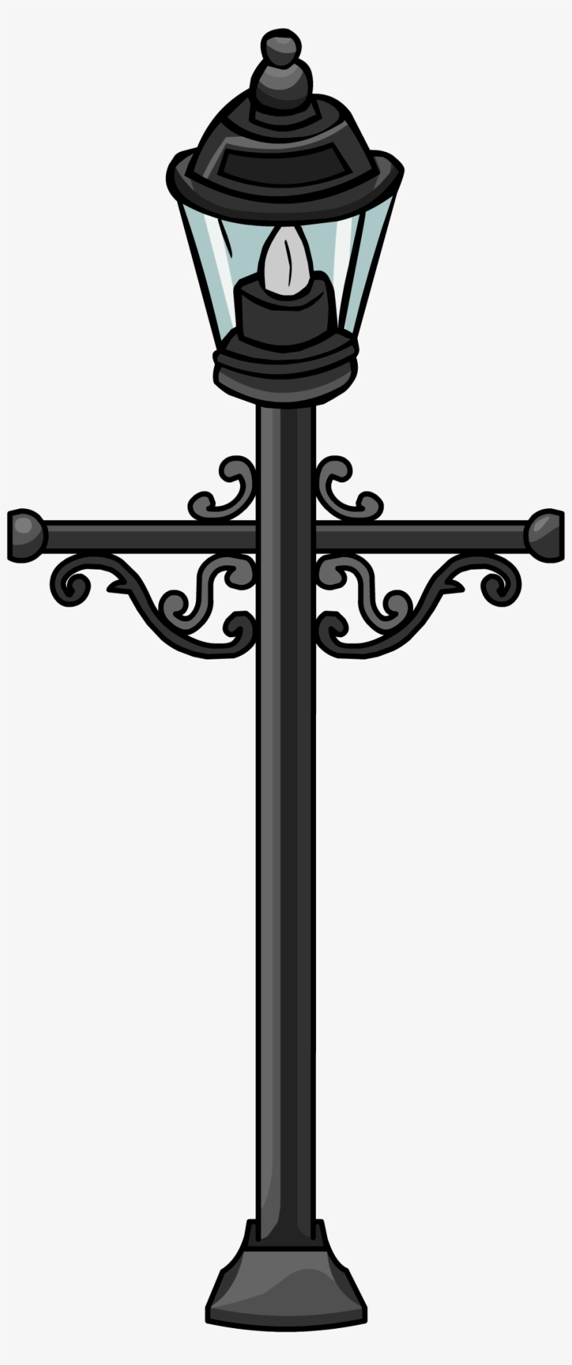 Lamp Post - Poste Sprite, transparent png #9761625