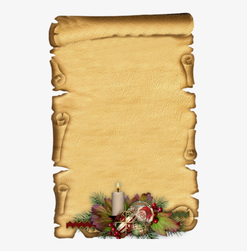 Pergaminho, Textura Do Papel, - Page Borders Old Paper, transparent png #9770522