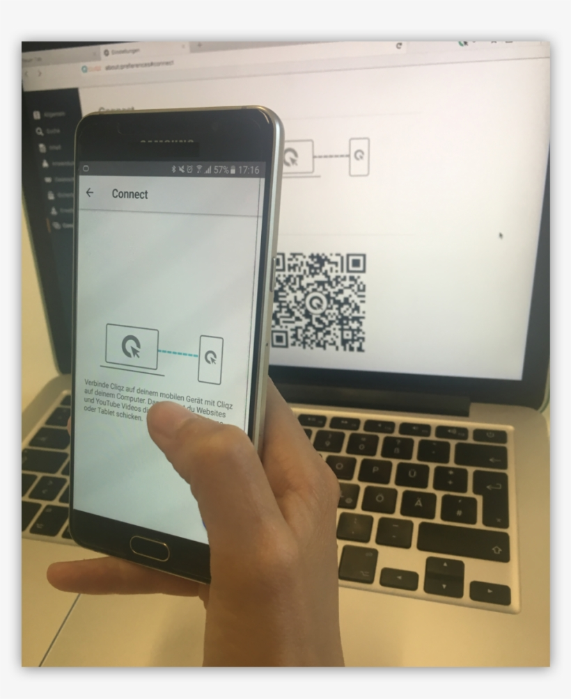 Connect Allows You To Connect Your Mobile Browser To - Mobile Phone, transparent png #9778304