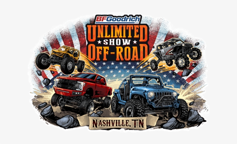 Unlimited Off Road Show Nashville, Tennessee Jeep, - Unlimited Show Off Road, transparent png #9782214