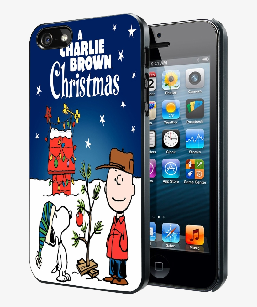 A Charlie Brown Christmas Iphone 4 4s 5 5s 5c Case - Fallout 4 Iphone 4 Case, transparent png #9784504