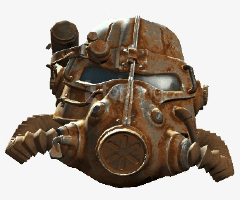 Free Png Download Fallout 4 Helm Png Images Background - Fallout 4 T45 Power Armor Helmet, transparent png #9786628