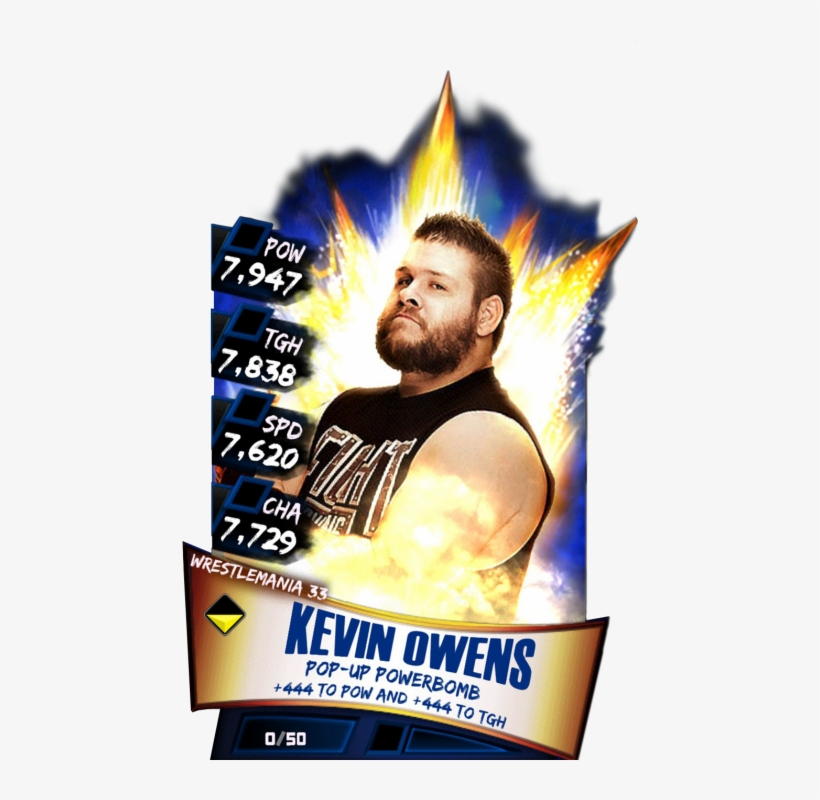Kevinowens S3 14 Wrestlemania33 - Wwe Supercard Wrestlemania 33 Undertaker, transparent png #9791061