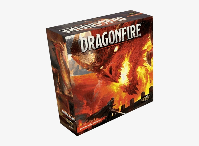 Dungeons & Dragons - Dragonfire Board Game, transparent png #9793703
