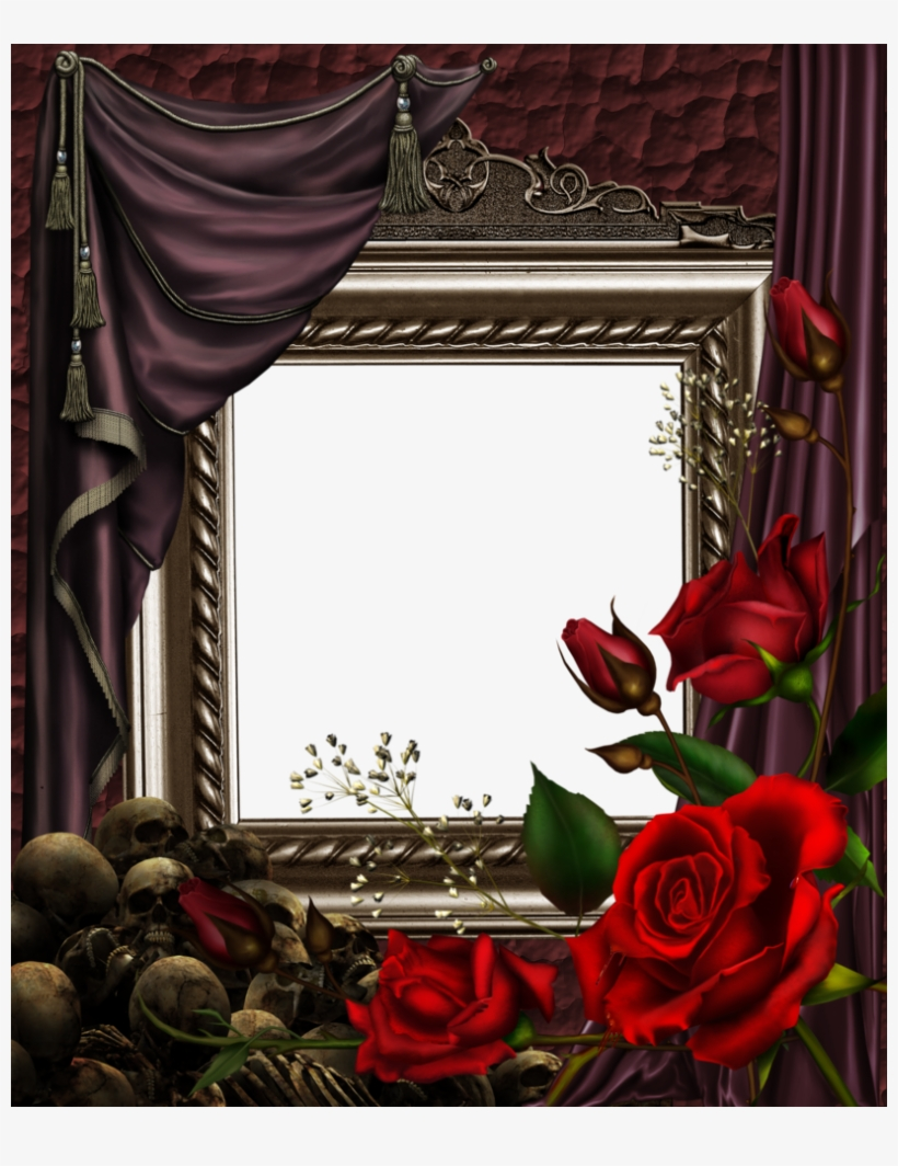 Goth Frame For Creeps By Collect And Creat On Deviantart - Gothic Frames For Photoshop, transparent png #981915