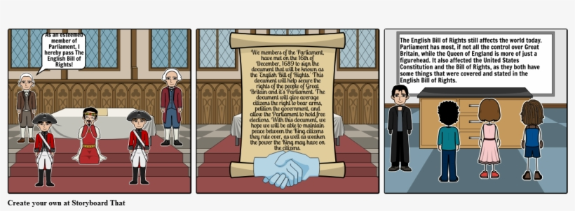 The English Bill Of Rights Comic - English Bill Or Rights Cartoon, transparent png #982293