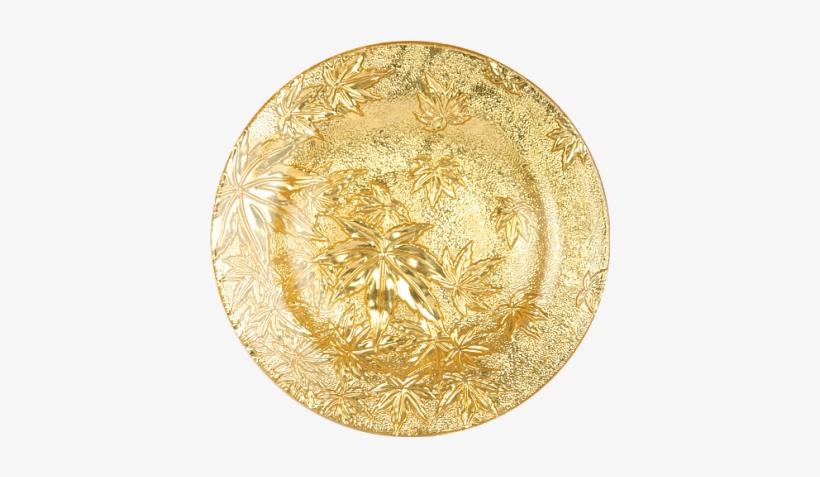 Gold Plate - Circle, transparent png #983551