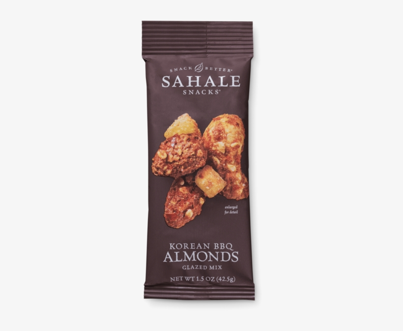 Grab & Go Korean Bbq Almonds Glazed Mix - Sahale Glazed Mix, Korean Bbq Almonds - 4 Oz, transparent png #984167